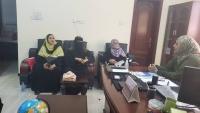 اللجنة الوطنية للمرأة بعدن تناقش واقع النساء في المحافظة والنهوض بها